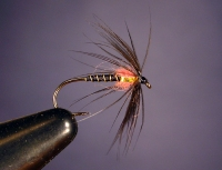 SOFT HACKLE BLACK & PINK